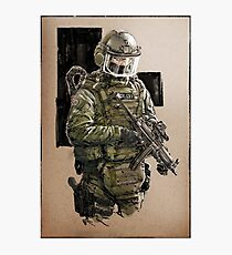 Military Polizei Photographic Print