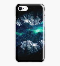 Lost in a world of dreams and mountains iPhone Case/Skin
