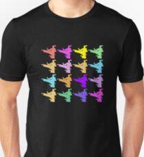 Colorful Flying Kicks T-Shirt