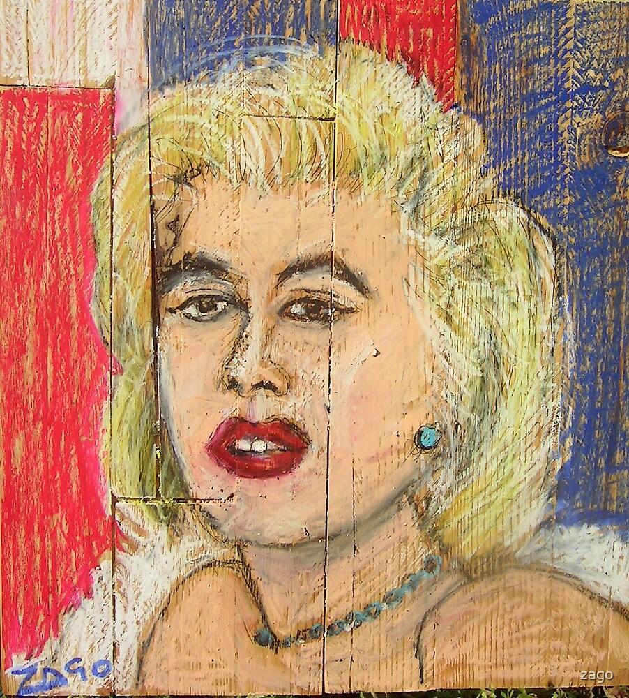 my Marilyn by zago