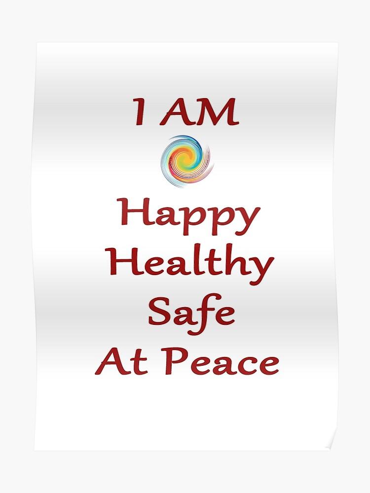 I AM affirmations | Poster