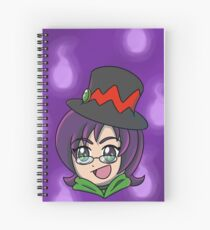 Cuaderno de espiral Jade fantasmal