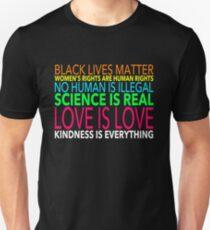 Camiseta unisex El amor es el amor