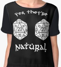 D20 - Dungeon and Dragons Women's Chiffon Top
