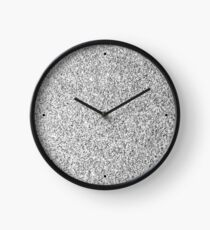 Beautiful Silver glitter sparkles Clock