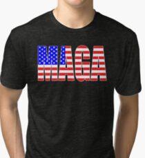 MAGA Make America Great Again Tri-blend T-Shirt