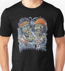 Cheech and Chong Up In Smoke hemp Marijuana Zombie T-Shirt