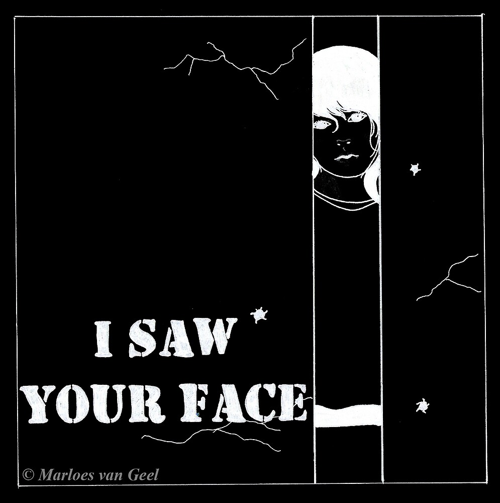 I saw your face by Mloes