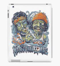 Cheech and Chong Up In Smoke hemp Marijuana Zombie iPad Case/Skin