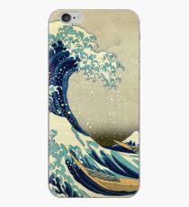 Hokusai, The Great Wave off Kanagawa, Japan, Japanese, Wood block, print iPhone Case