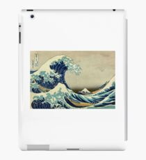 Hokusai, The Great Wave off Kanagawa, Japan, Japanese, Wood block, print. iPad Case/Skin