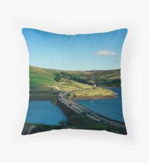 Road to the outdoors Throw Pillow