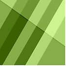 Greenery modern geometric lines by PLdesign