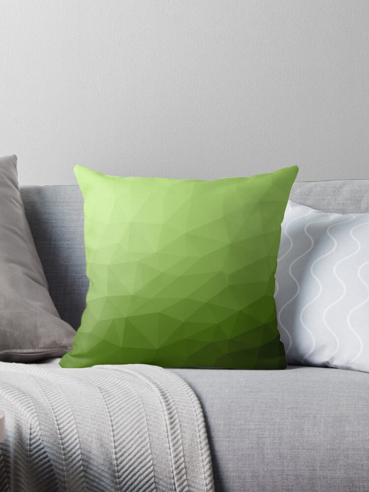 Greenery ombre gradient geometric mesh by PLdesign