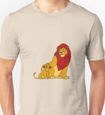 Simba and Mufasa Lion King T-Shirt