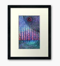 Lunar Night Framed Print