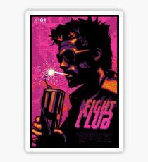 Fight Club Film Sticker