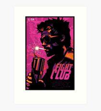 Fight Club Film Art Print