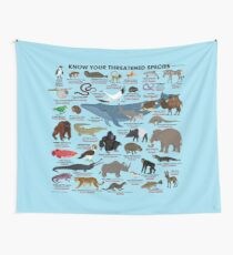 Know Your Threatened Species Wall Tapestry