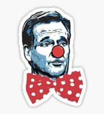 Bozo The Clown Commissioner Sticker