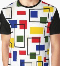 Bauhaus-esque Mid Century Modern 5 Graphic T-Shirt