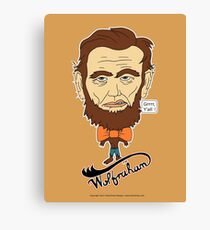 Wolfraham Lincoln Canvas Print