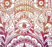 Fatima Hand Hamsa Sunset Sticker