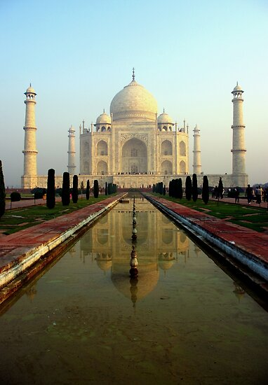 The Taj Mahal - the Most Romantic Building in the World by jacqi