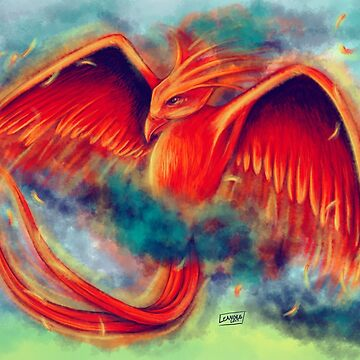 Phoenix in Flight by Leanore