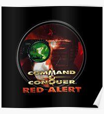Red Alert Logo Poster