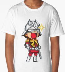 Char Aznable Gundam - SNES Sprite Long T-Shirt