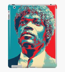 Jules Pulp Fiction (Obama Effect) iPad Case/Skin