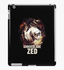 League of Legends - SHOCKBLADE ZED iPad Case/Skin