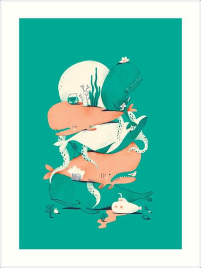 Oskar Print #1 by Jacques & Lise