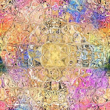 ABSTRACT 6 COLORFUL PATTERN  by Dusenbergart