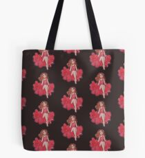 Beauty in the Red Dress Tote Bag