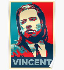 Vincent Pulp Fiction (Obama Effect) Poster