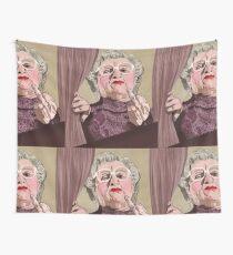 Mrs Doubtfire - Illustration - Robin Williams - Film - Funny Wall Tapestry