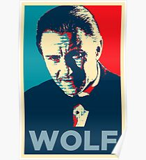 Mr. Wolf Pulp Fiction (Obama Effect) Poster