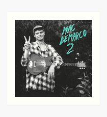 Mac DeMarco - 2 Art Print