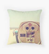 Miles and Miles - Santa Cruz, California Throw Pillow
