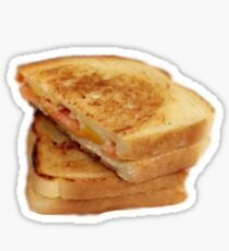 Watercolor Grilled Cheese Sticker