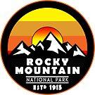 Rocky Mountain National Park Colorado by MyHandmadeSigns