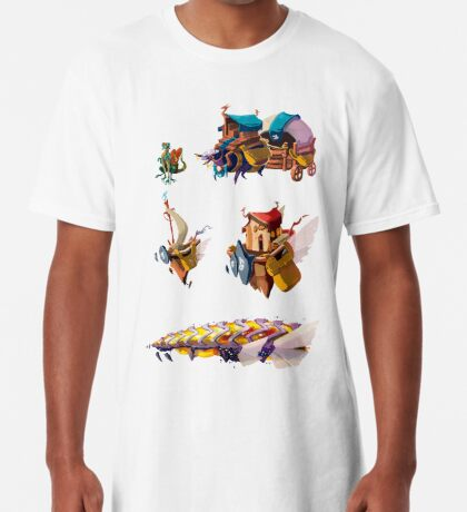 Float island Camiseta larga