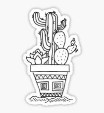 Cacti pot Sticker