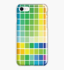 Abstract Color Chart Palette Guide iPhone Case/Skin