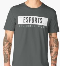 Electronic Sports EST. 1972 [White/Black Edition] Men's Premium T-Shirt