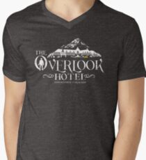 The Shining - Overlook Hotel The Blackest Hour Men's V-Neck T-Shirt