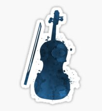 A violin Sticker