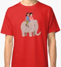 Elelphant Ride Classic T-Shirt